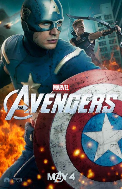 the-avengers-chris-evans-captain-america-poster