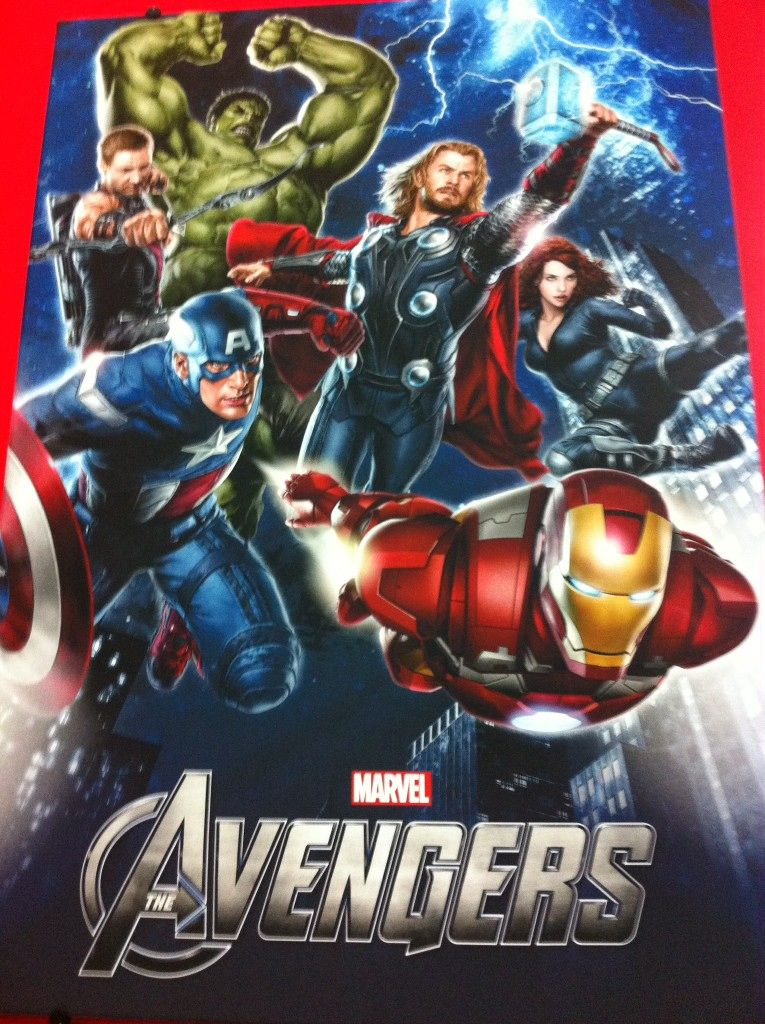 THE AVENGERS Promo Poster from Licensing Expo | Collider