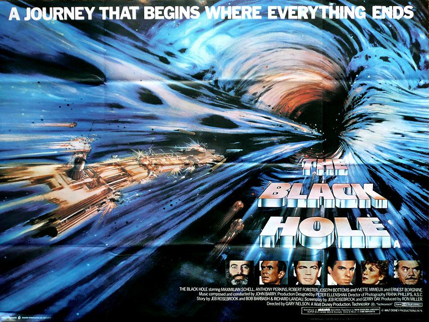 1979 Movie Posters: Jon Spaihts To Rewrite Disney's THE BLACK HOLE For
