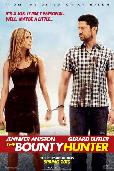 The Bounty Hunter movie poster Gerard Butler, Jennifer Aniston