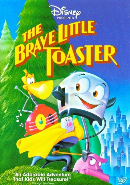 """Poster for Disney movie """"The Brave Little Toaster"""""""