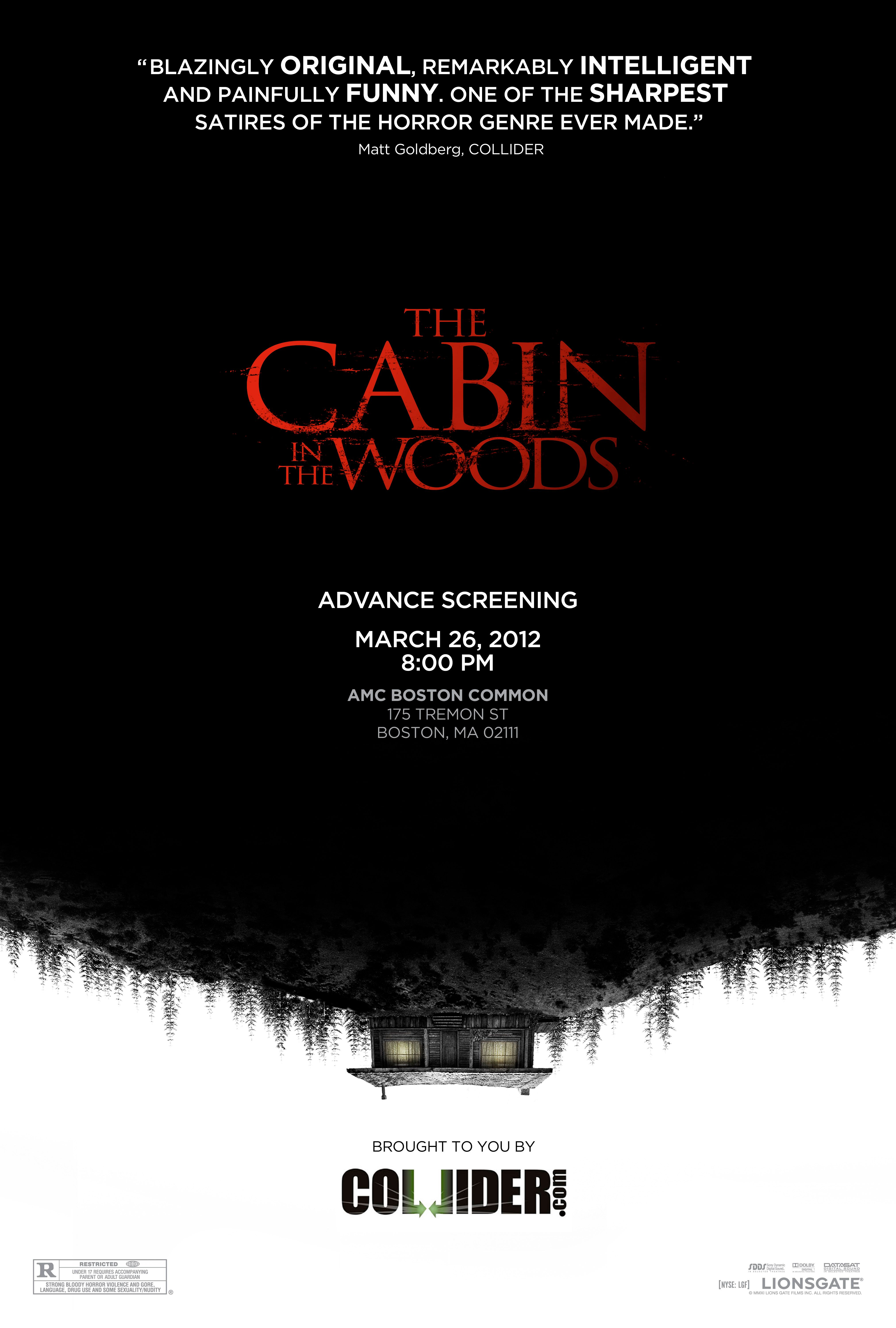 The Cabin In The Woods Collider Poster