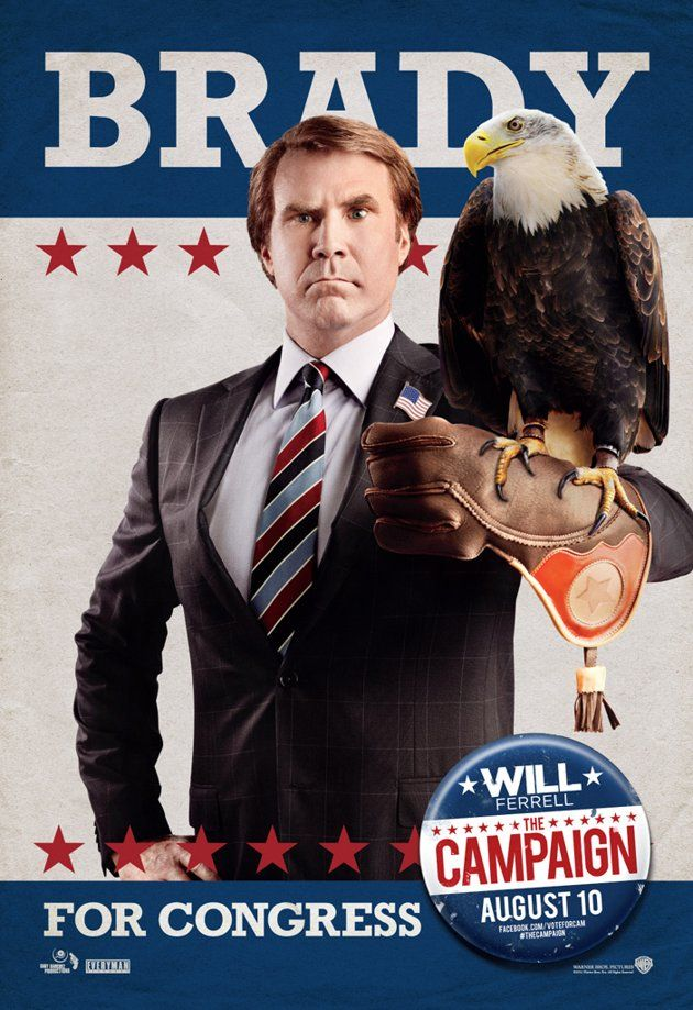 THE CAMPAIGN Posters Featuring Will Ferrell and Zach ...