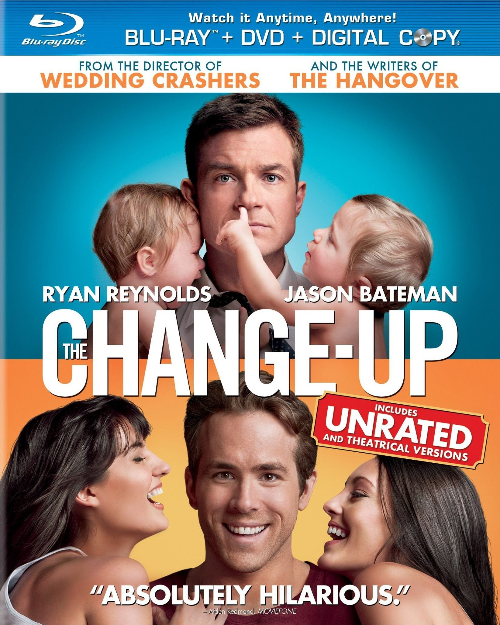 THE CHANGE-UP Blu-ray Review