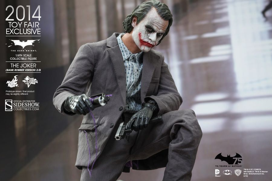 Hot Toys Joker Figure From The Dark Knight By Sideshow