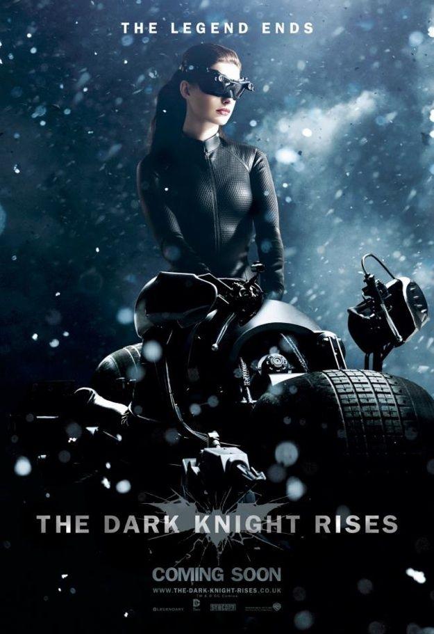 The Dark Knight Rises Secret Catwoman Poster Revealed
