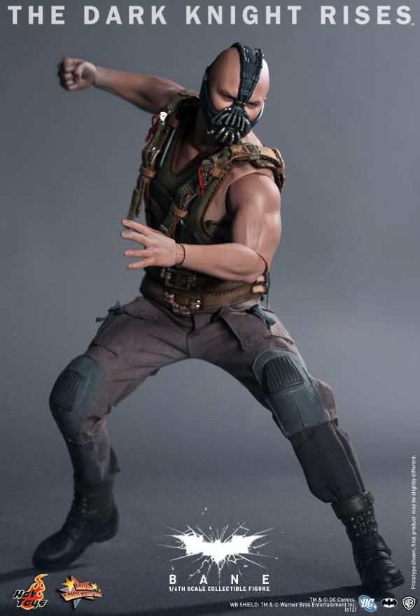 Hot Toys Bane And Camouflage Tumbler The Dark Knight Rises