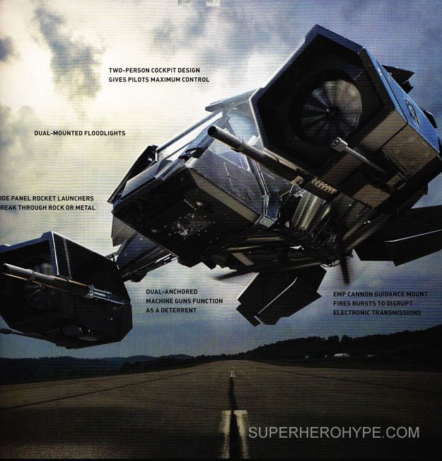 THE DARK KNIGHT RISES Images of The Bat | Collider