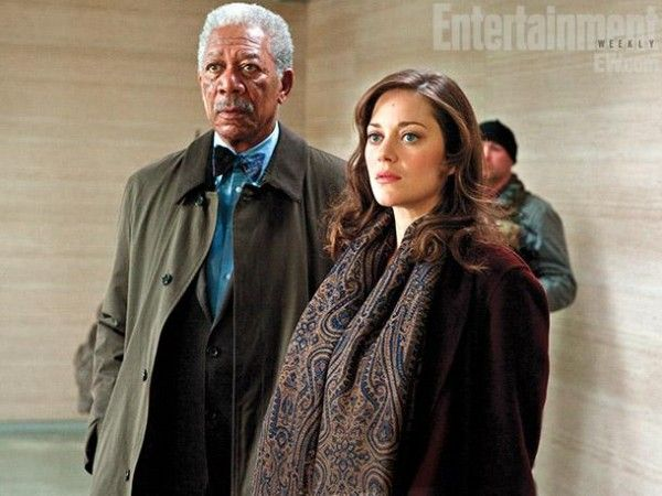 the-dark-knight-rises-morgan-freeman-marion-cotillard