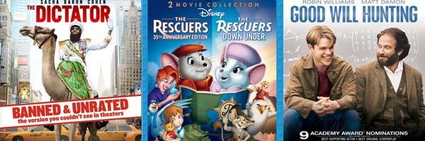 the-dictator-the-rescuers-good-will-hunting-blu-ray-slice