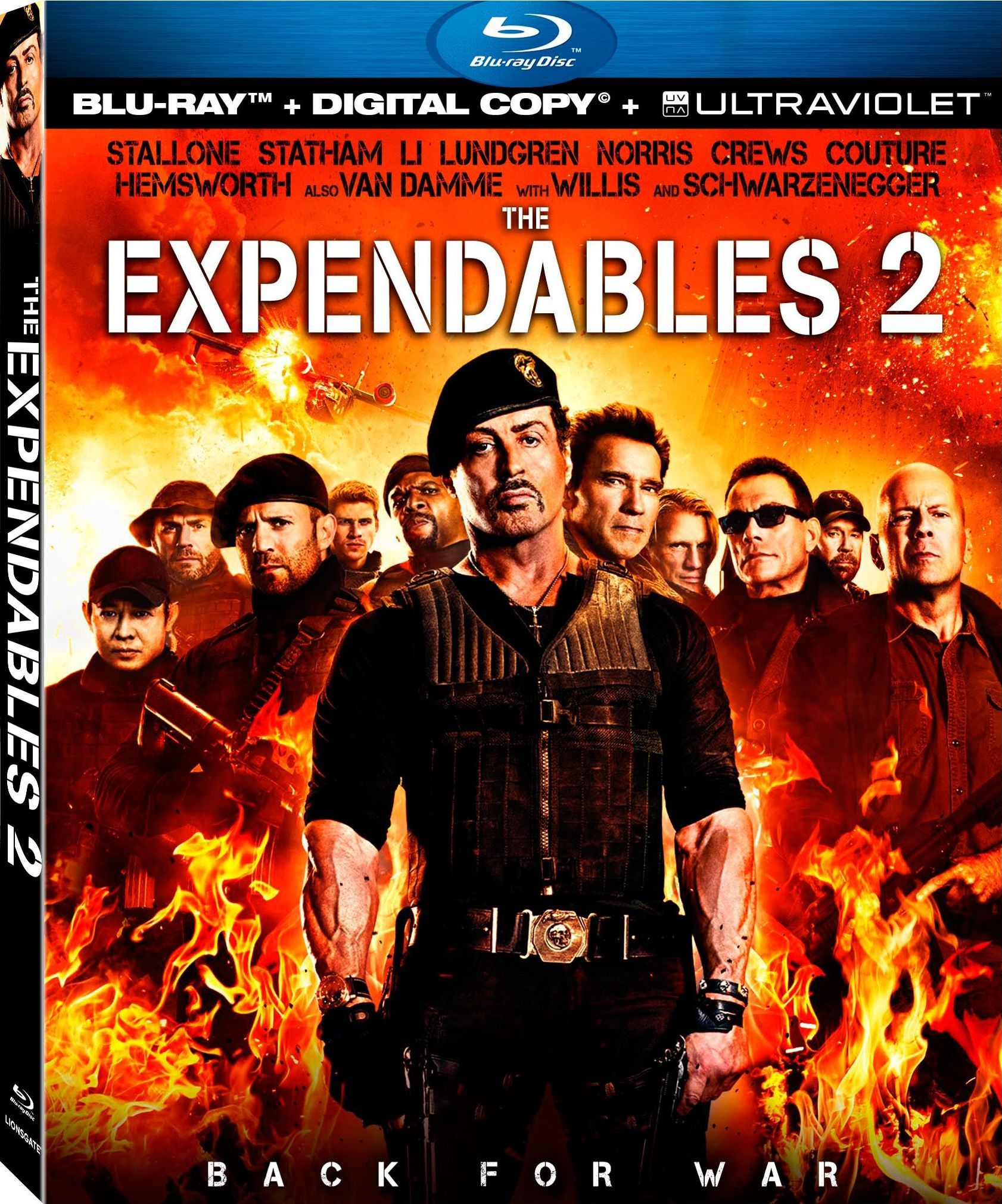 THE EXPENDABLES 2 Blu-ray Review | Collider