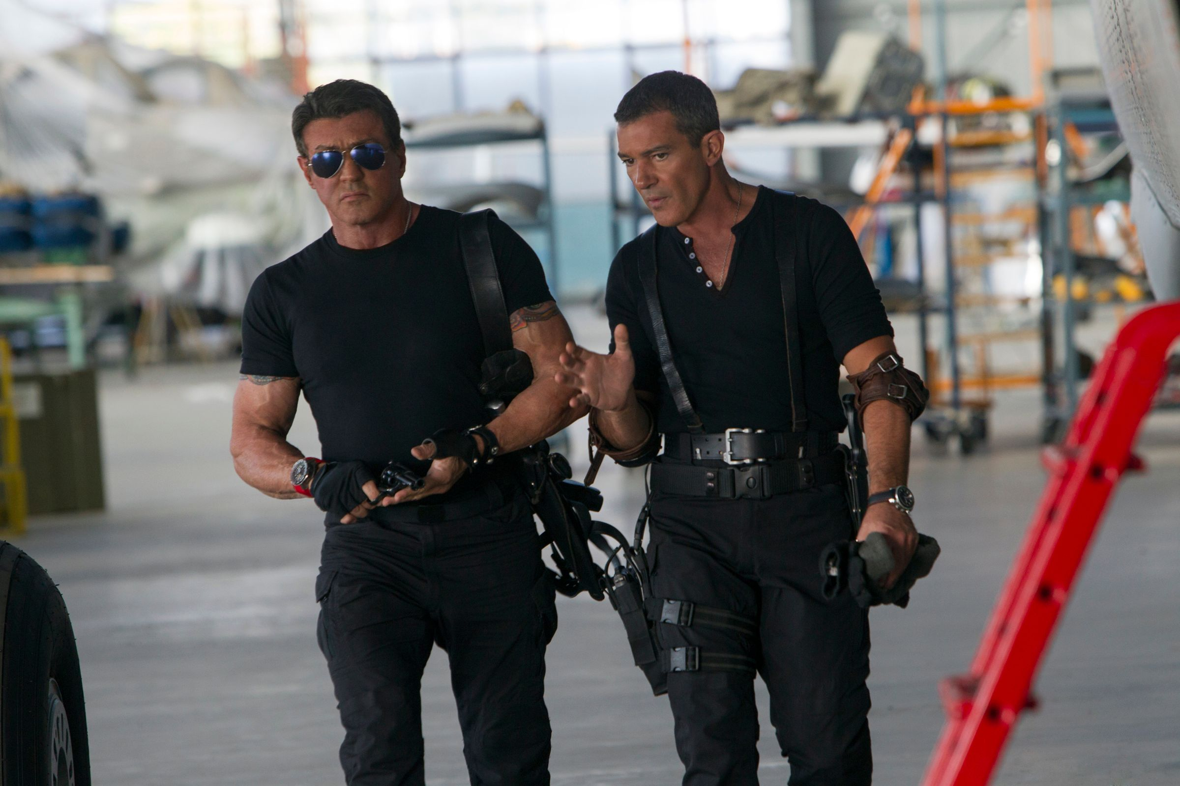 Sylvester Stallone Expendables 1