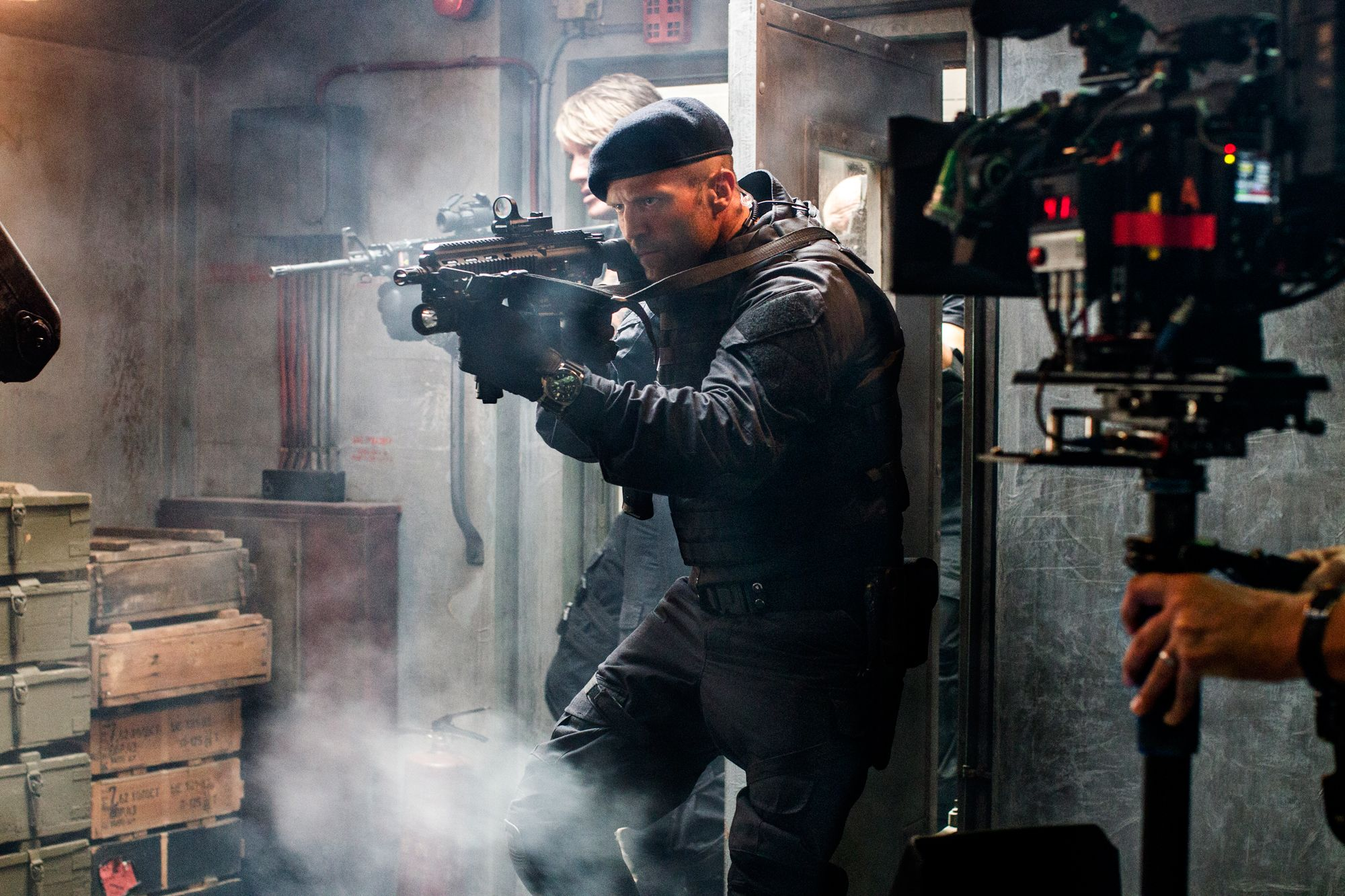 the expendables 3 set visit; expendables 3 stars sylvester stallone