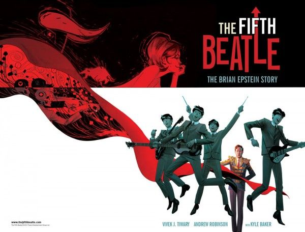 the fifth beatle comic cover