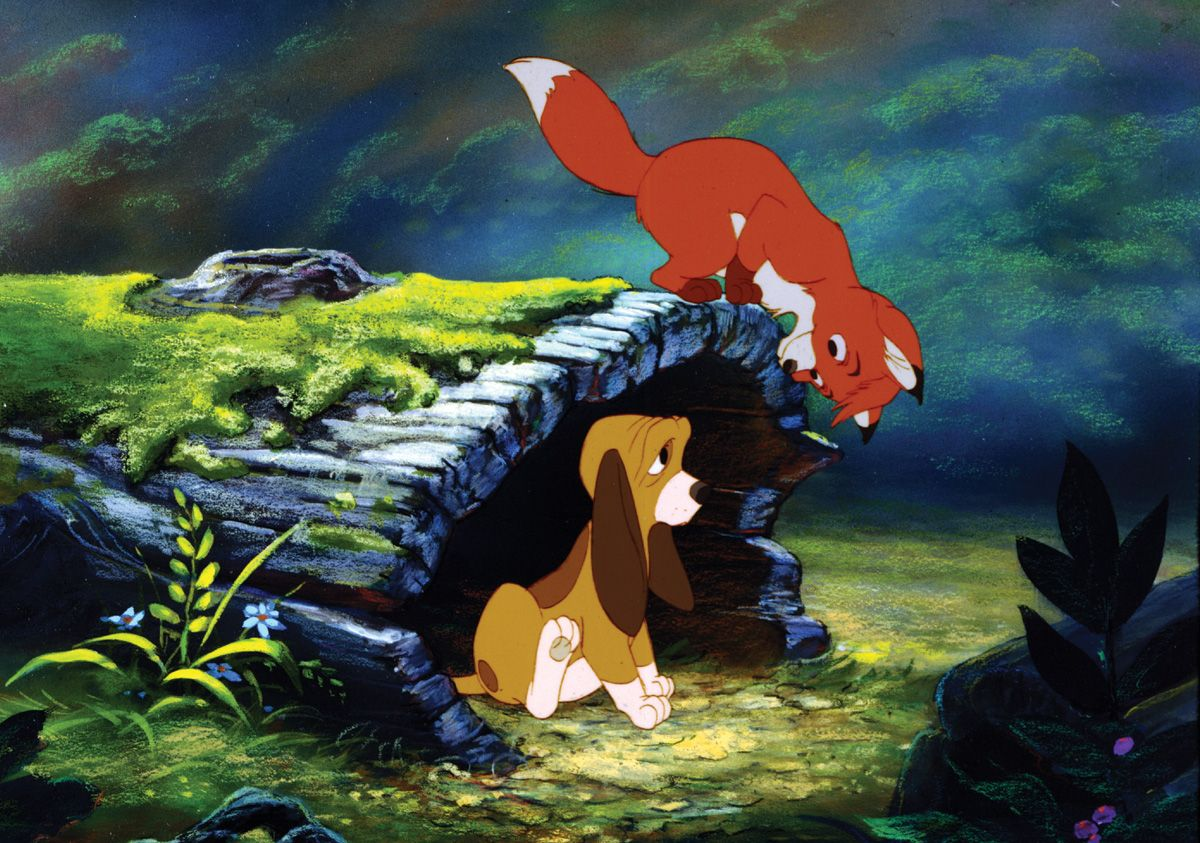 Image result for The Fox And The Hound 1981