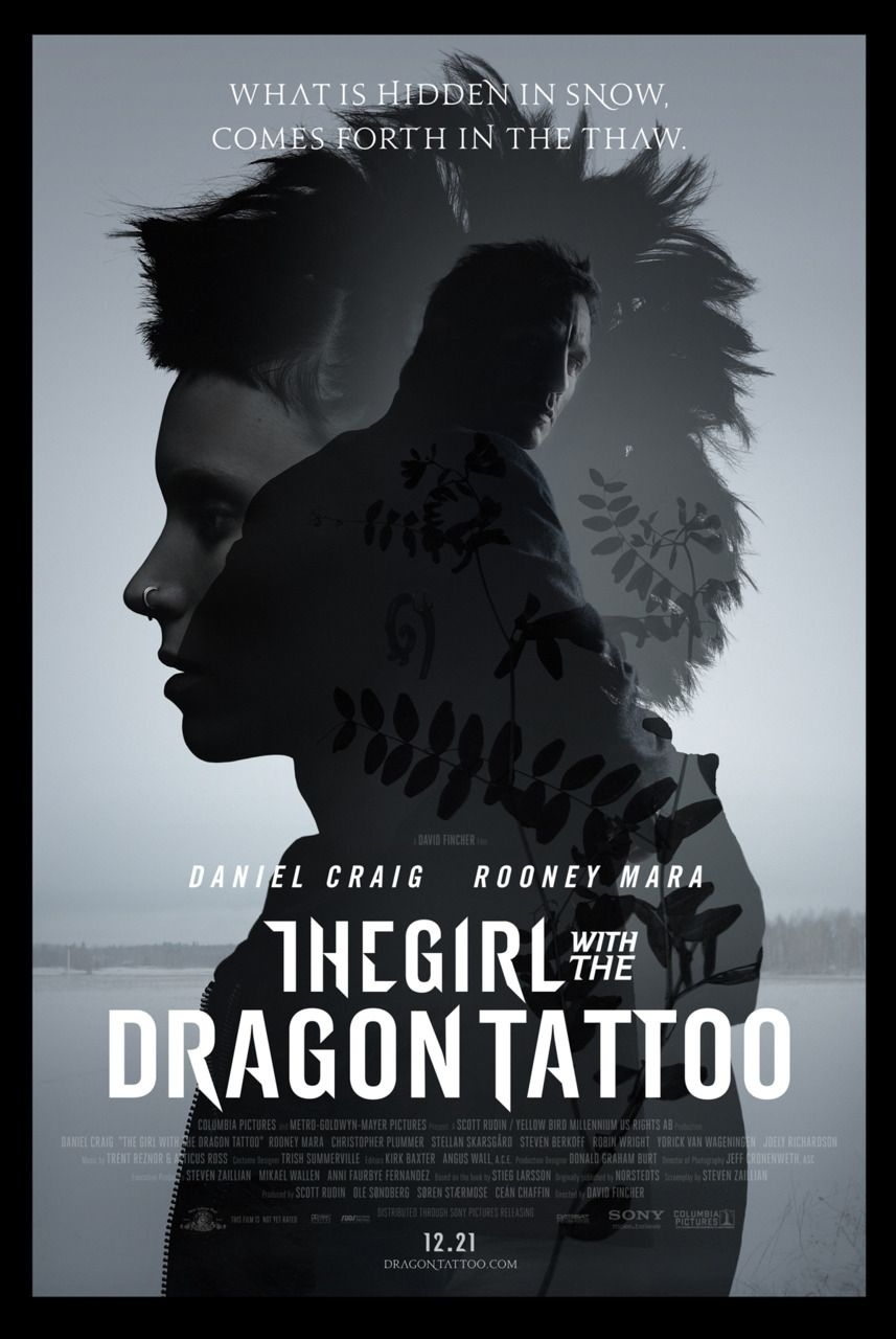 The girl with the dragon tattoo review the films of for Girl with dragon tattoo