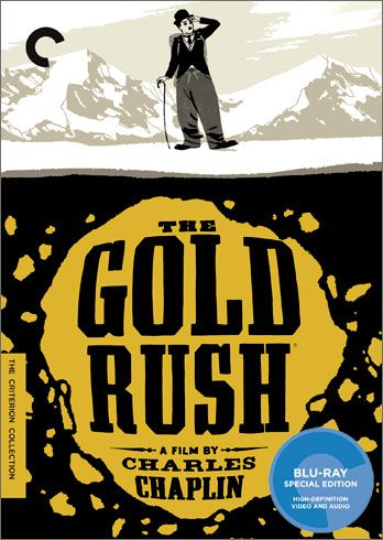 the gold rush criterion blu ray cover