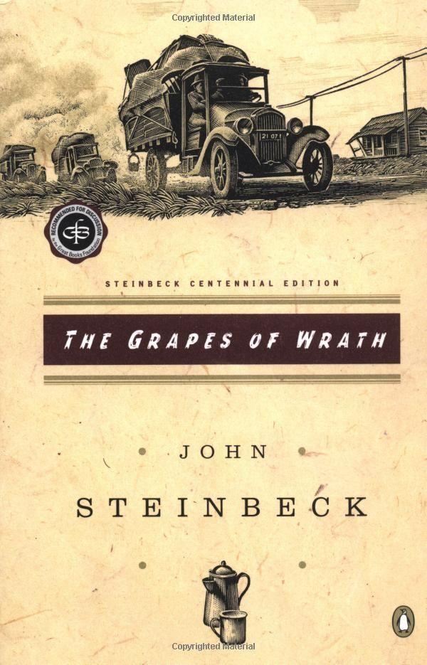 grapes of wrath book report The forgotten dust bowl novel that rivaled the grapes of wrath collins's help was so essential to the development of the grapes of wrath that steinbeck dedicated the book to him but we don't know whether it was in the form of a fsa report of not if that's the case.