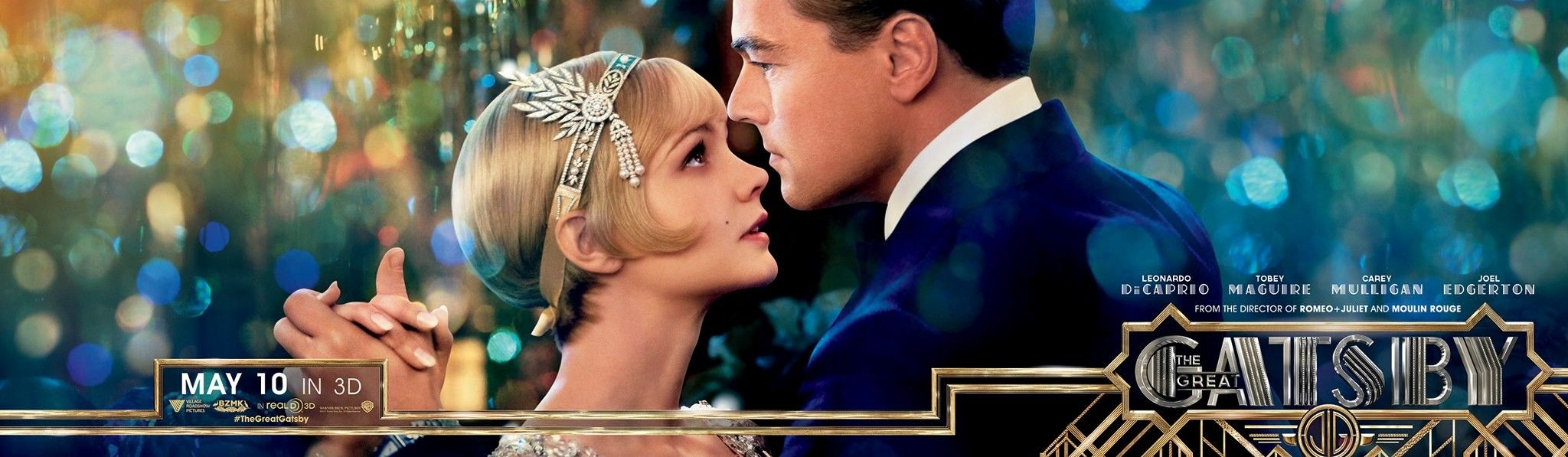 In The Great Gatsby, what morals, values, or goals are expressed and described?