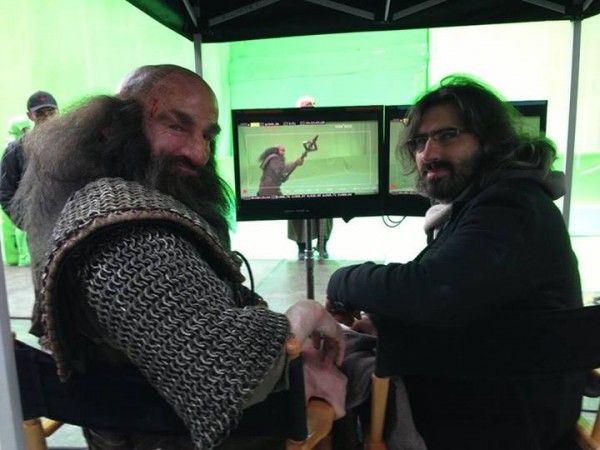 the hobbit 3 there back again set photo