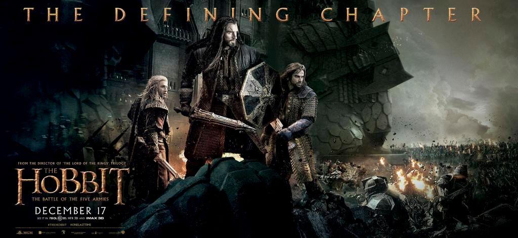 The Hobbit 3 Poster Banner