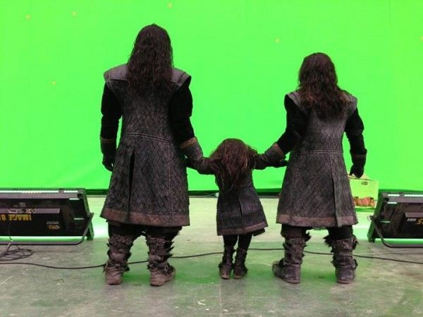 the hobbit 3 there back again set photo 6