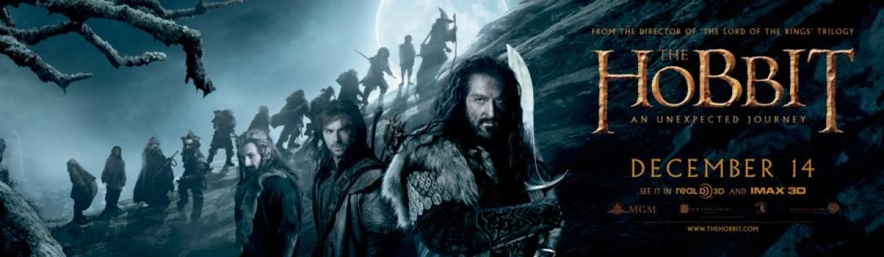THE HOBBIT: AN UNEXPECTED JOURNEY Banners, Stamps, and ...