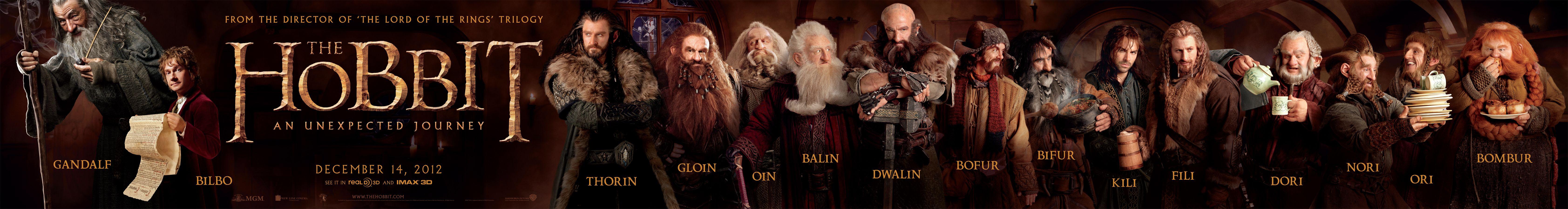 THE HOBBIT: AN UNEXPECTED JOURNEY Reveals a New Dwarf ...
