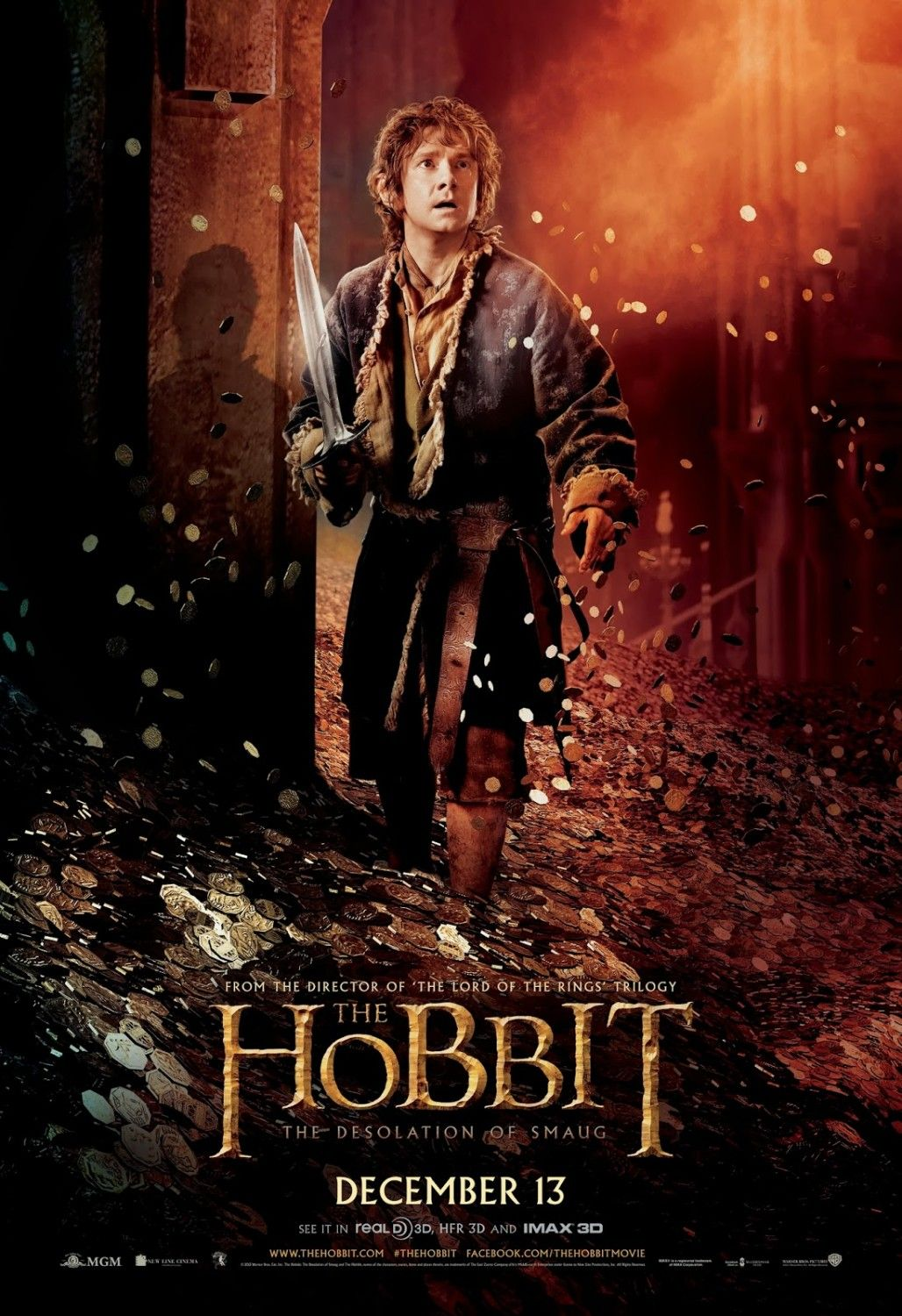 the hobbit: the desolation of smaug movie clips and behind-the