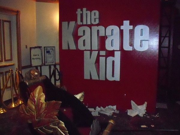 The Karate Kid showest 2010 display