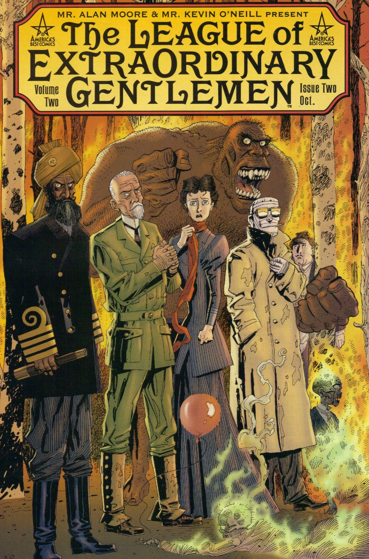 The league of extraordinary gentlemen book cover