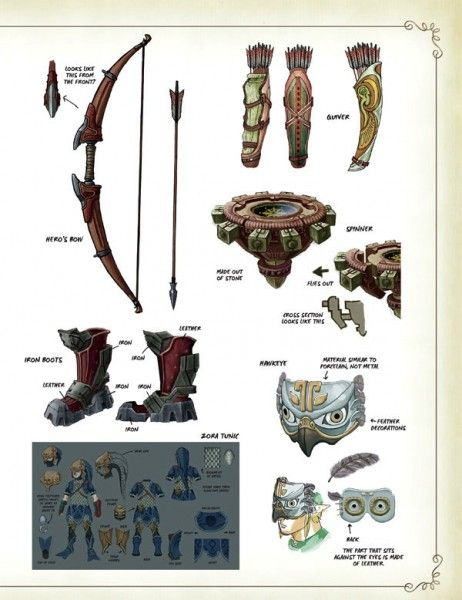 the-legend-of-zelda-hyrule-historia-bow