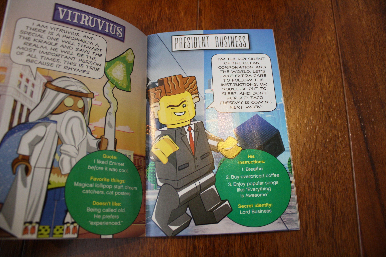 Lego movie cat poster quote