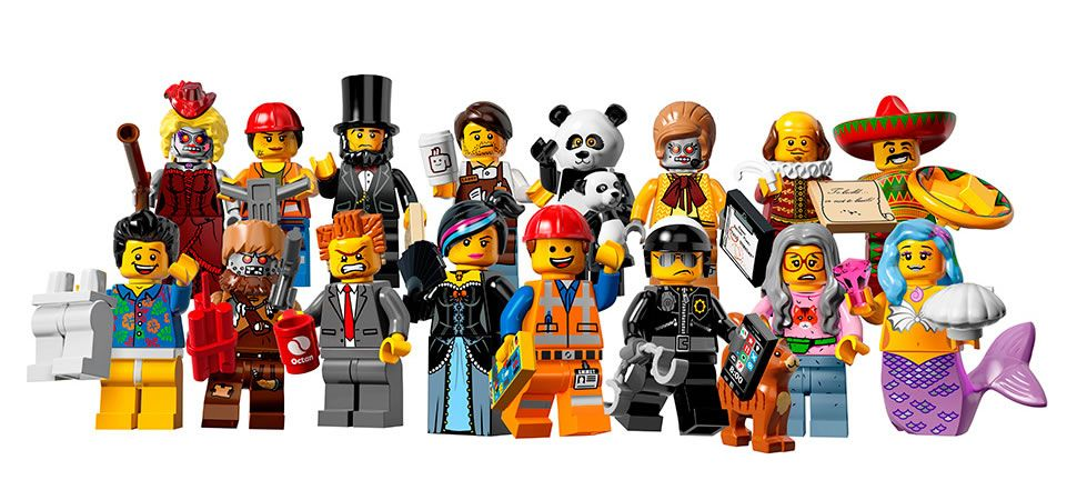 new lego sets based on the lego movie reveal characters and