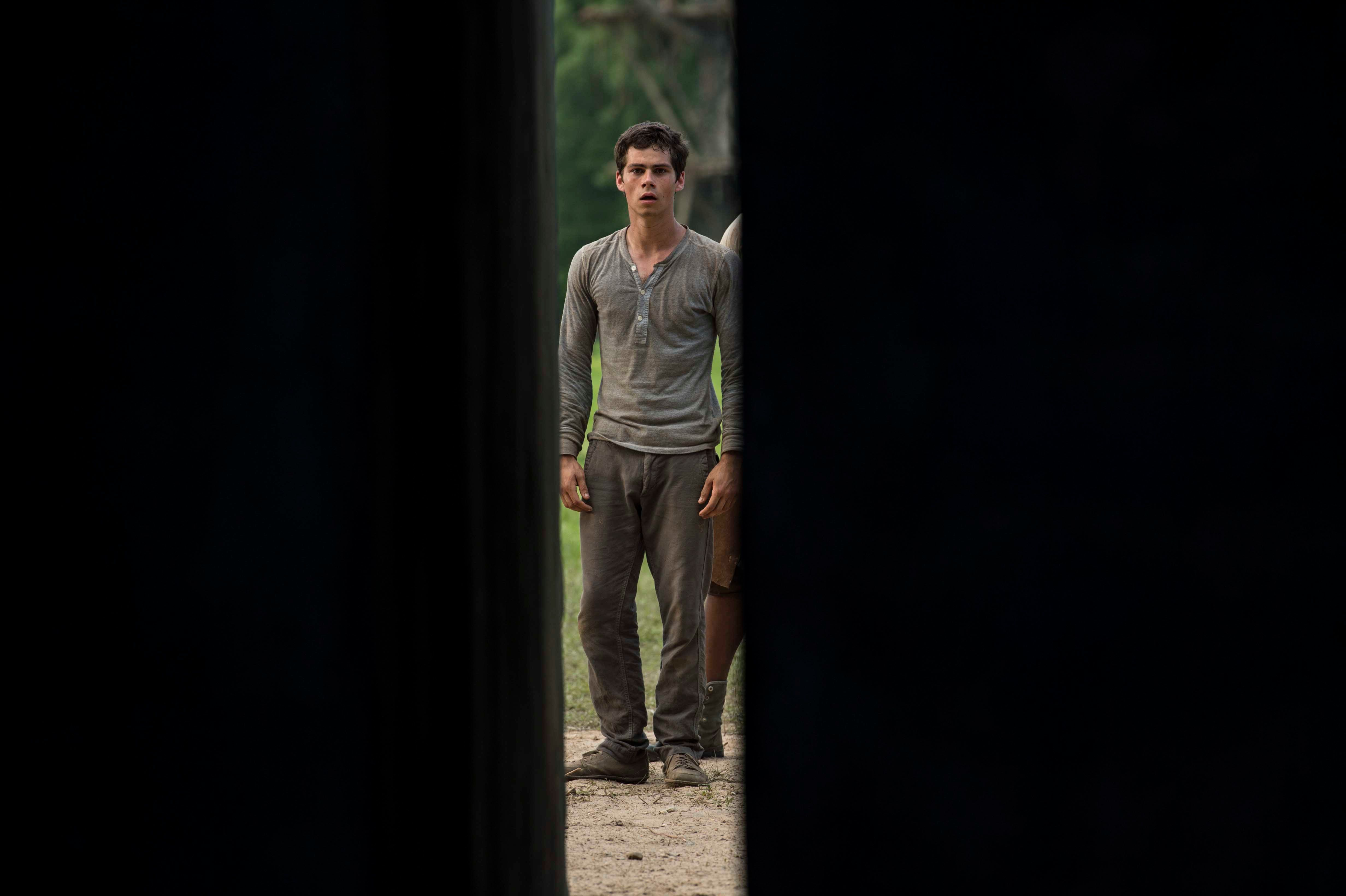 THE MAZE RUNNER Movie Images Featuring Dylan O'Brien ...