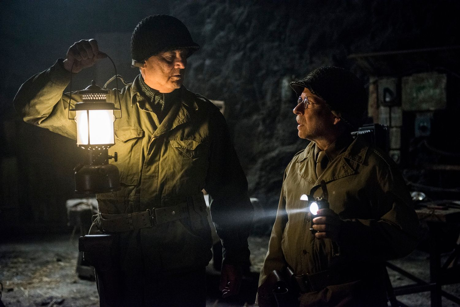 Monuments Men Intervie...
