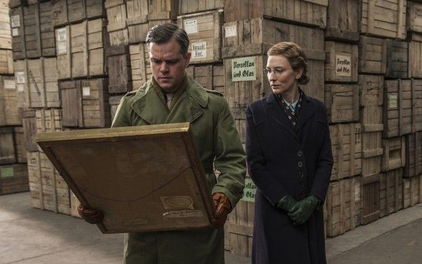 the-monuments-men-matt-damon-cate-blanchett