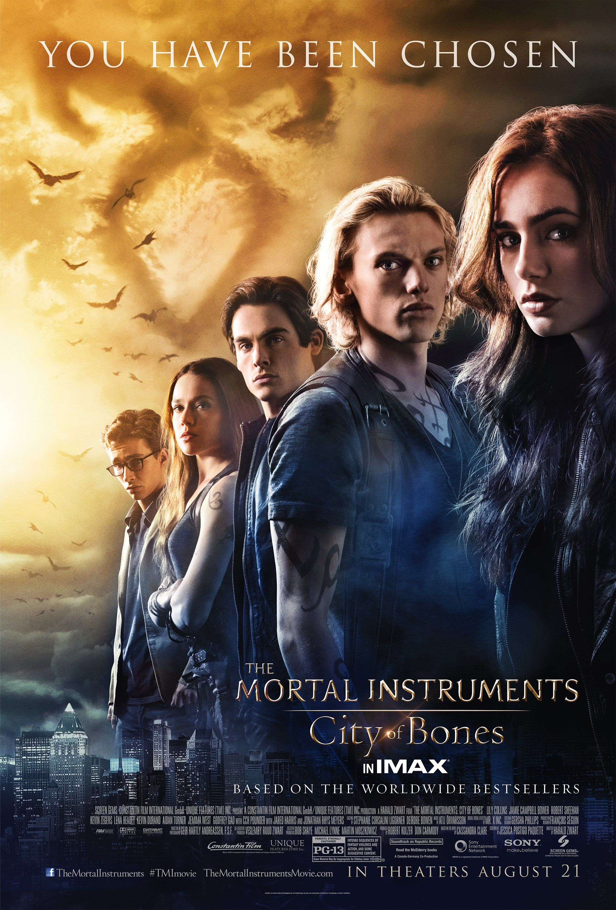 THE MORTAL INSTRUMENTS Sequel, CITY OF ASHES, Resumes ...