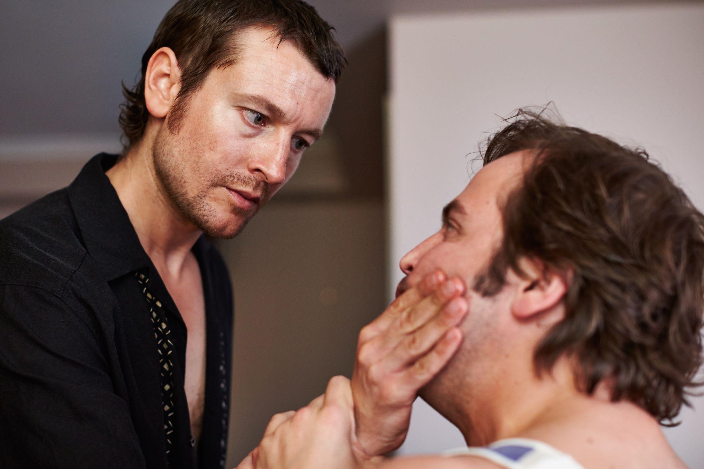 Photo of Angus Sampson & his friend   -