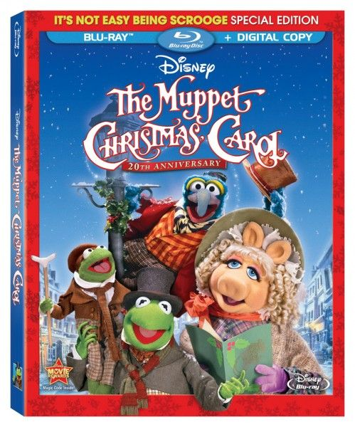 the muppet christmas carol blu ray cover