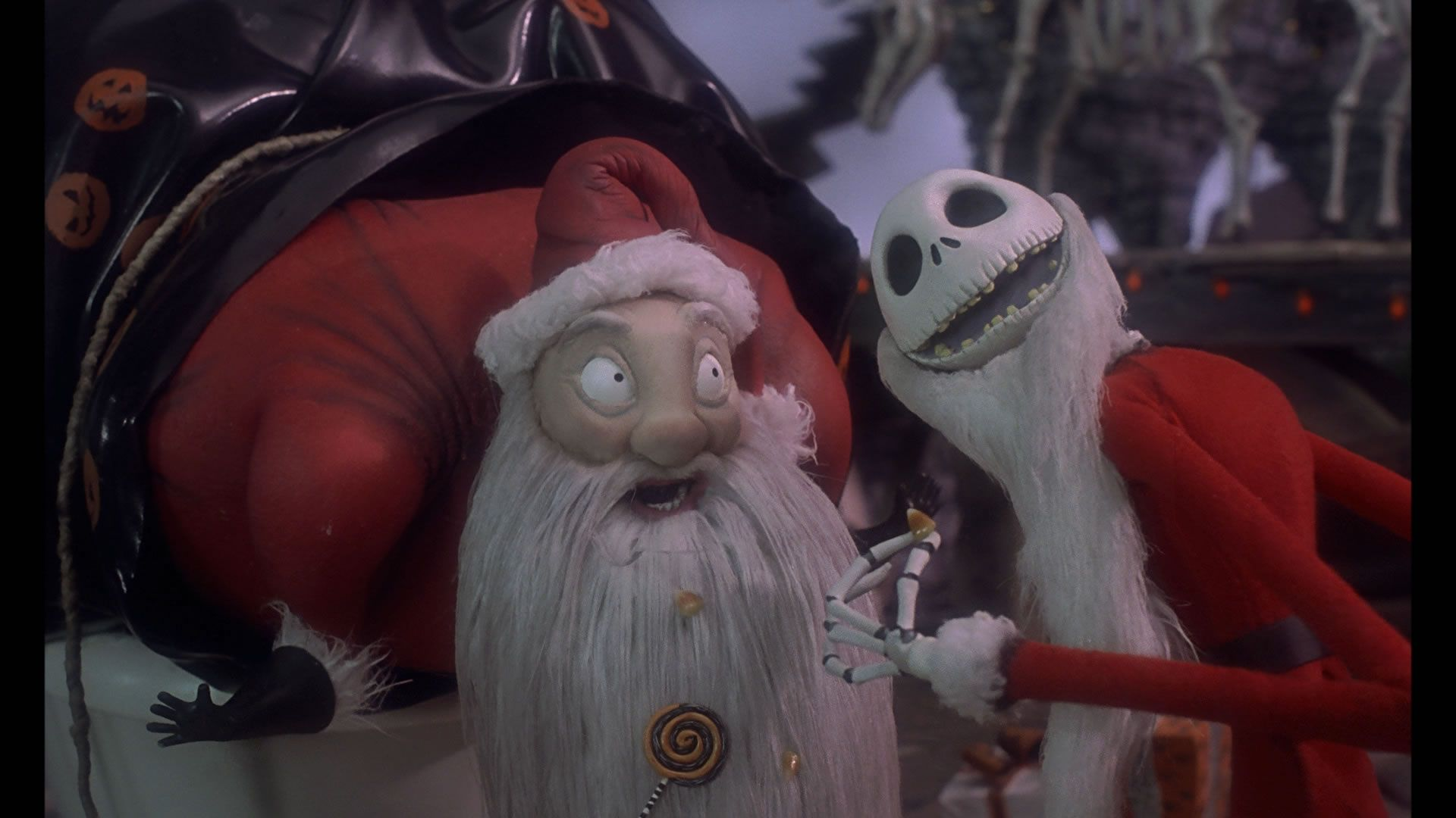 the nightmare before christmas jack skellington santa claus - Who Wrote The Halloween Theme Song