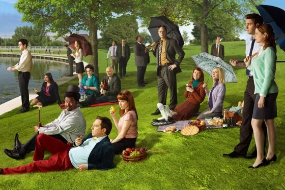 the-office-seurat-painting