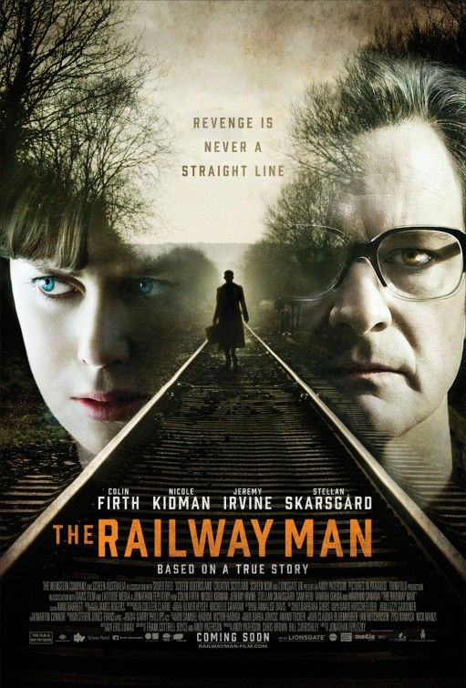 transcendence under the skin and the railway man posters
