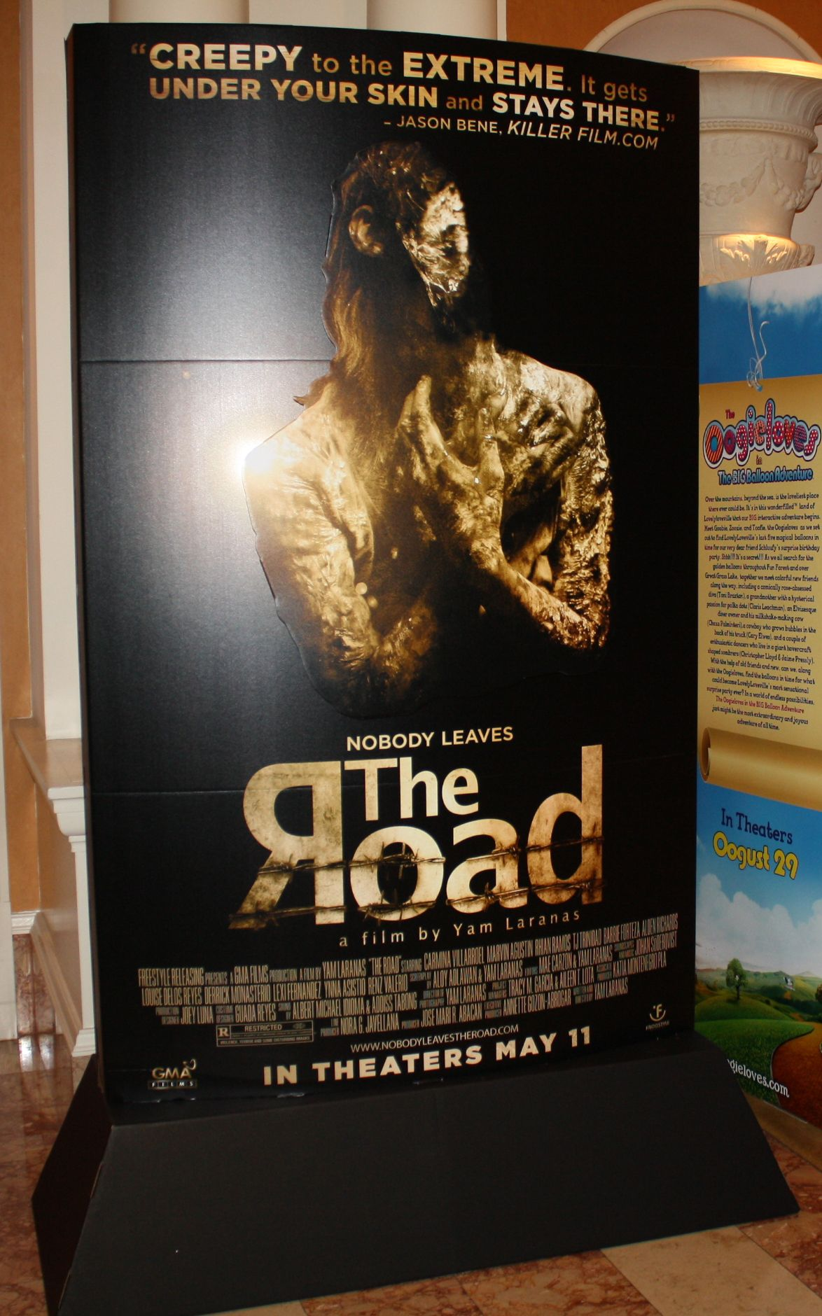 The Road Movie Poster Standee