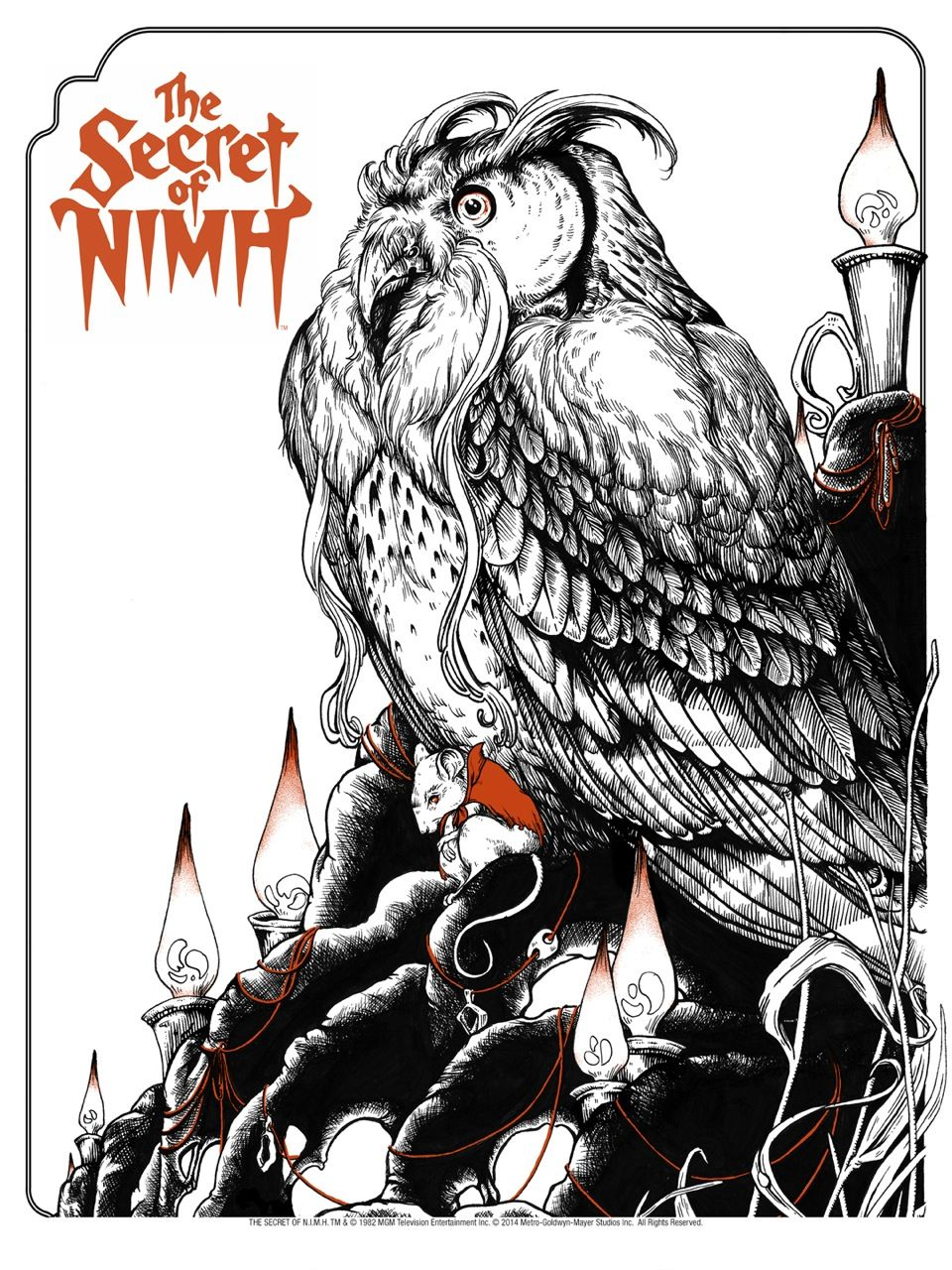 The Secret Of Nimh Posters And Letterpress From Odd City
