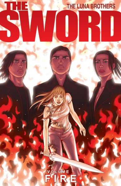 the sword comic book cover
