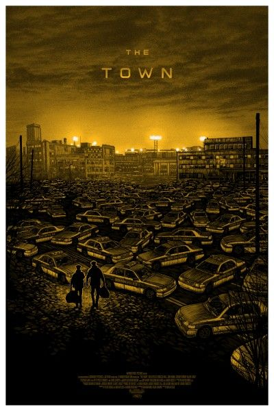 the-town-mondo-poster-variant