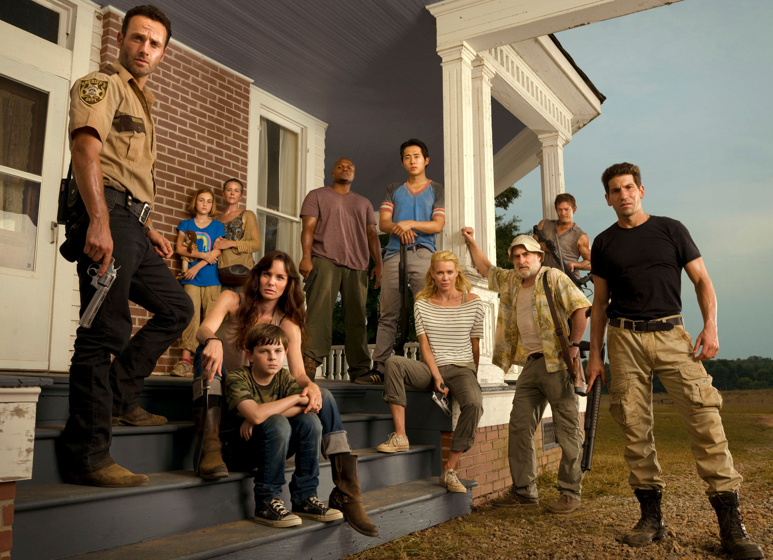 Walking Dead Season 1 Cast Photo The-walking-dead-cast-season-2