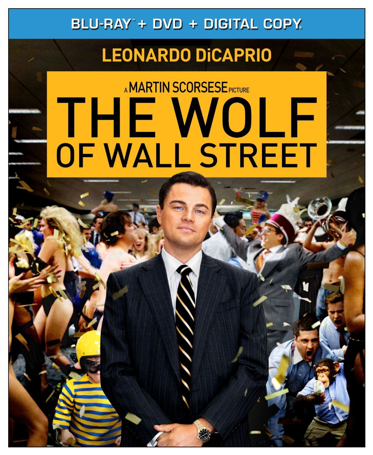 Wolf Of Wall Street Blu Ray Performance-wise  everyone is