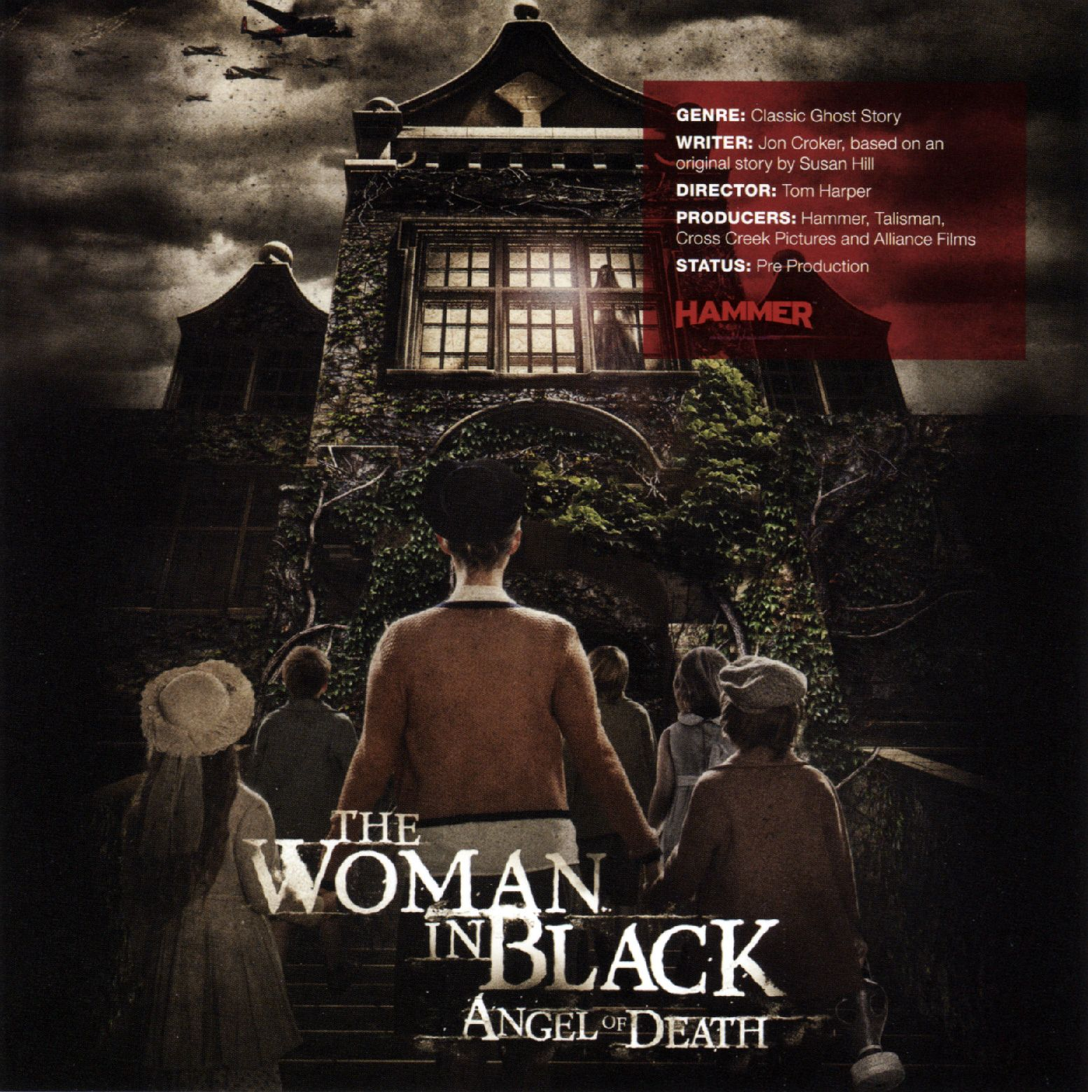 the woman in black: angel of death promo poster | collider